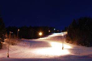 Saint-Cergue, ski nocturne